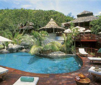 Praslin Seychely Constance Lemuria Resort