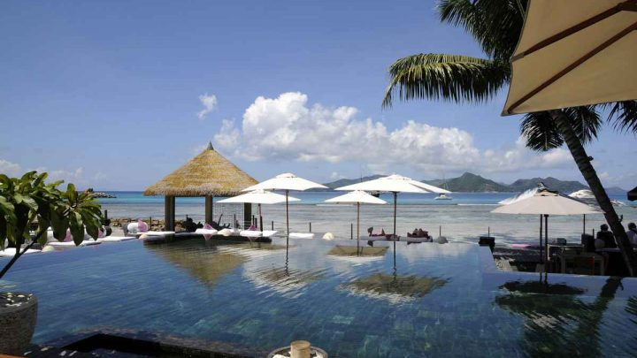 La Digue Seychely Hotel Le Domaine de Orangeraie