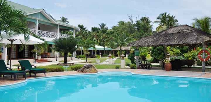 Dovolená Seychely - L'Hotel Habitation***