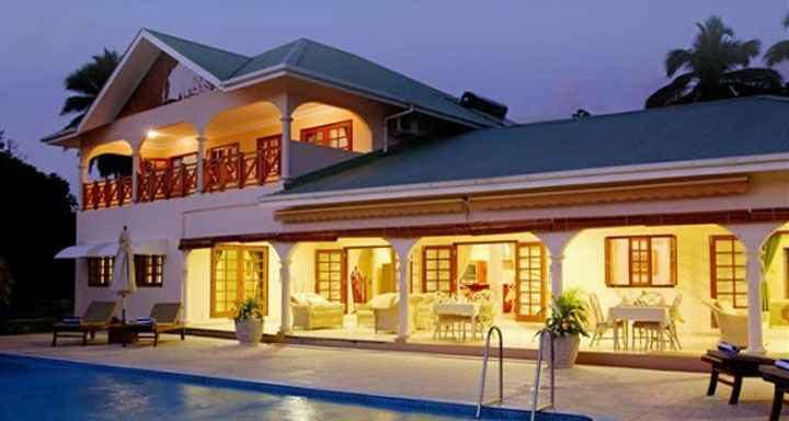 Dovolená Seychely - Villa de Cerf***