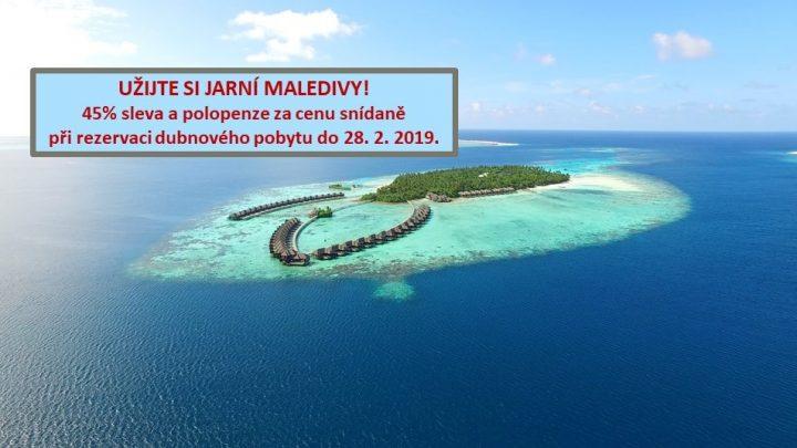 Dovolená Maledivy - Ayada Resort*****