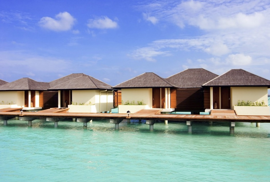 Water Villa, Paradise Island Resort, Maledivy
