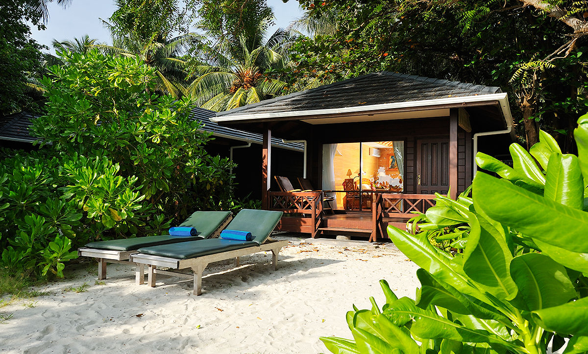 Beach Villa, Royal Island, Maledivy