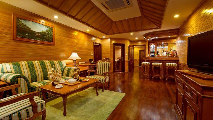 Presidential Suite, hotel Royal Island, Maledivy