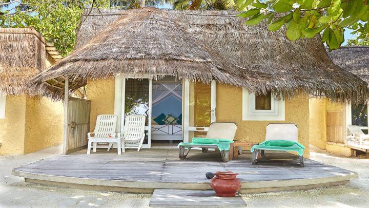 Beach Villa, Kuredu Resort, Maledivy