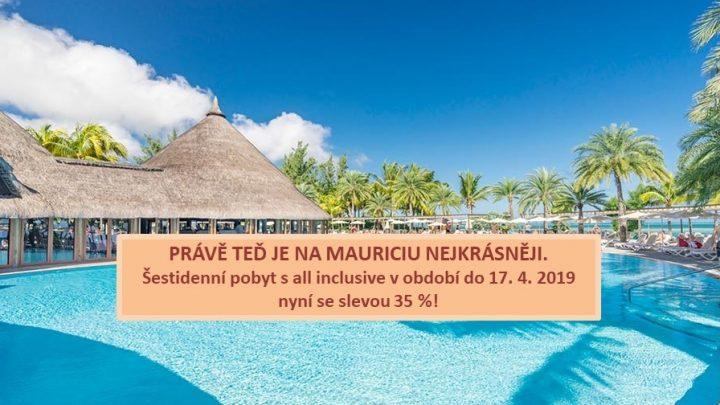 Dovolená Mauricius - Riu Creole****