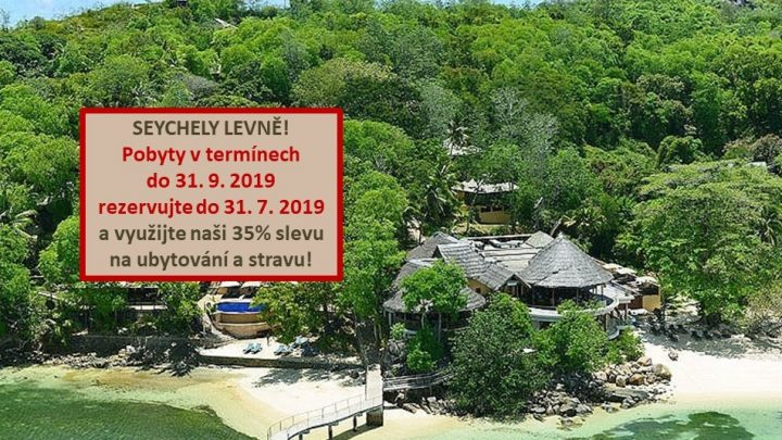 Dovolená Seychely - Cerf Island Resort****