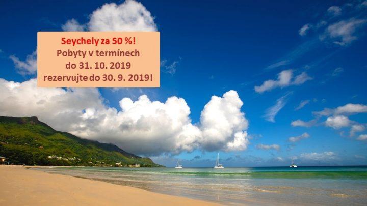 Dovolená Seychely - Hotel Coral Strand****
