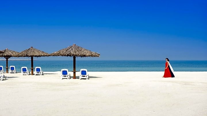 Hilton Al Hamra, Ras Al Khaimah, SAE - pláž