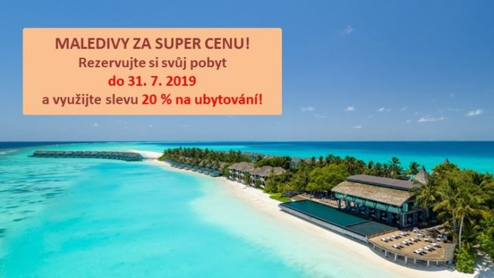 Dovolená Maledivy - Kuramathi Island****