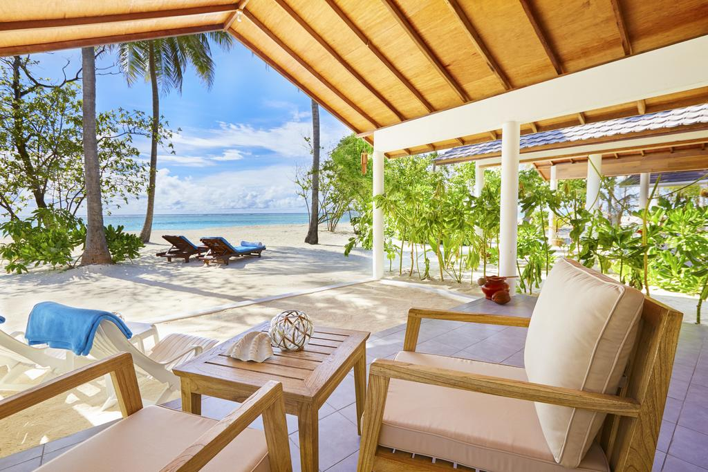 Sunset Beach Bungalow, hotel Innahura, Maledivy