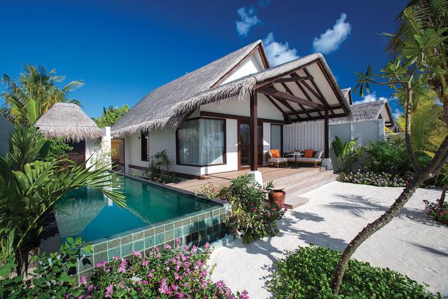 Earth Villa, resort Ozen by Atmosphere at Maadhoo, Maledivy