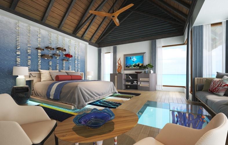 Wind Villa, Ozen by Atmosphere at Maadhoo, Maledivy