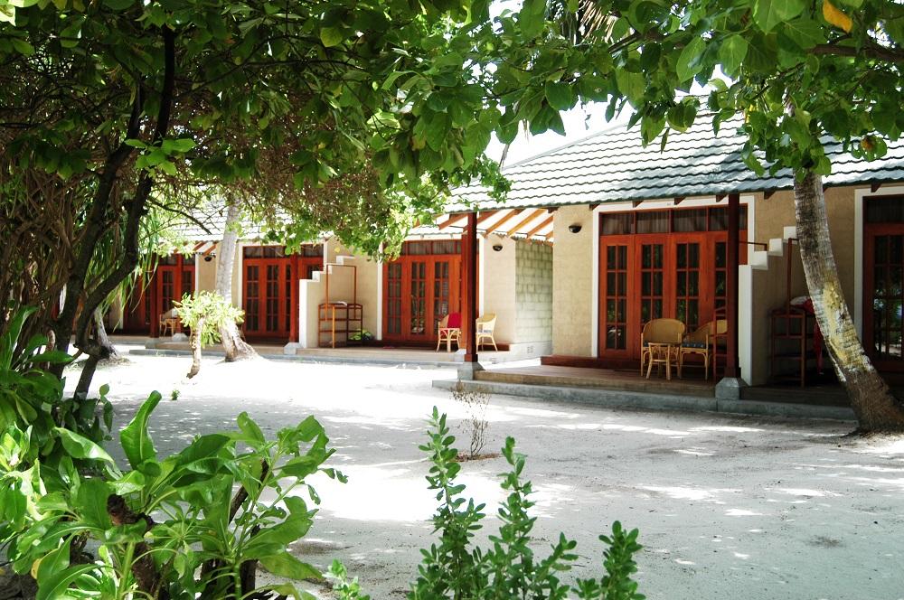 Beach Villa, Adaaran Select Meedhupparu, Maledivy