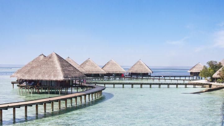 Water bungalov, Adaaran Club Rannalhi, Maledivy