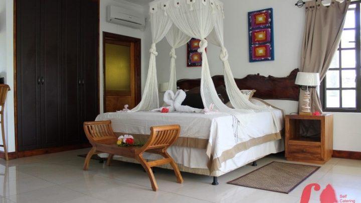 studiový apartmán, La Digue Self Catering, Seychely