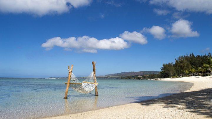 Shanti Maurice, pláž, Mauricius